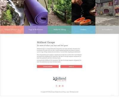 Midland Escape - New Website Launched
