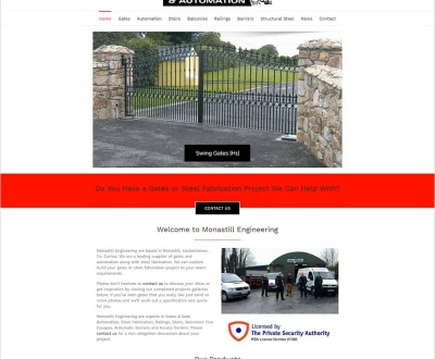 Monastill Engineering - New Website Launched